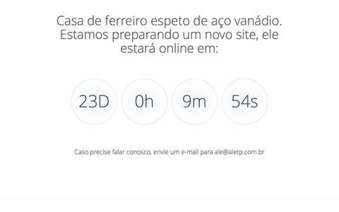 Screenshot of Home Page aletp.com.br - Aletp Digital - captured Feb. 5, 2016