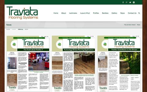 Screenshot of Press Page traviata.co.za - News   Traviata - captured Sept. 19, 2014