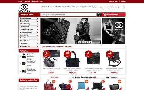 Screenshot of Home Page ocbabyplanner.com - UK Replica Chanel Shop:Online Sale Replica Chanel Handbags,Replica Chanel Sunglasses On UK - captured Aug. 11, 2015
