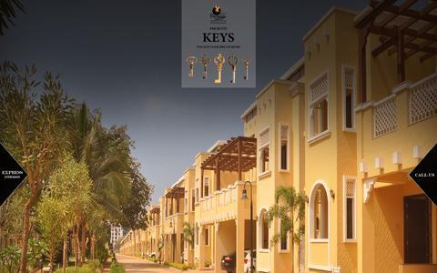 Screenshot of Landing Page prestigeconstructions.com - Prestige Group - Real Estate Property Developers in South India - captured Sept. 21, 2016
