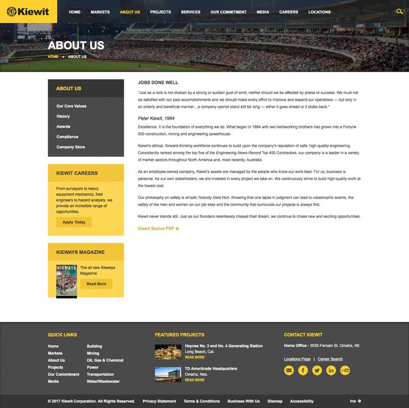 Kiewit | Competitive Intelligence and Insights | Crayon