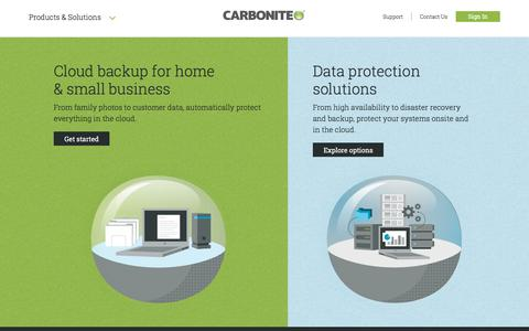 Computer File Backup Software & Data Protection | Carbonite