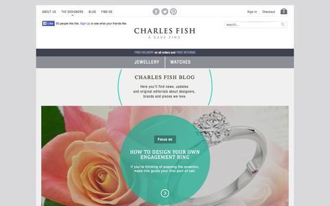 Screenshot of Blog charlesfish.co.uk - Charles Fish Blog - captured Nov. 3, 2014