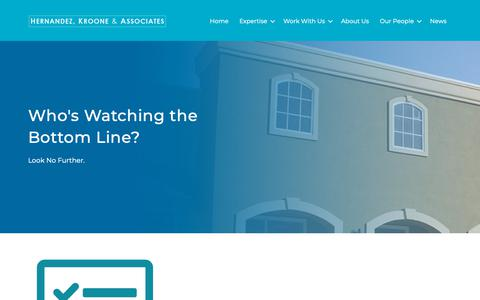 Screenshot of Developers Page hkagroup.com - Developers   Hernandez Kroone & Associates - captured Sept. 28, 2018