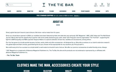 About Us | The Tie Bar