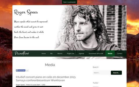Screenshot of Press Page pianoflow.nl - Media | Pianoflow - captured Sept. 29, 2014