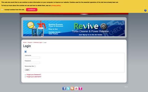 Screenshot of Login Page spdiagnostics.com - SP Diagnostics - Login - captured Sept. 30, 2014