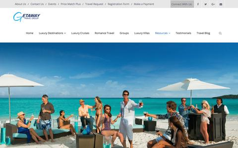 Screenshot of About Page getawaytravelgroup.com - About Us | GetAway Travel Group - captured July 18, 2018