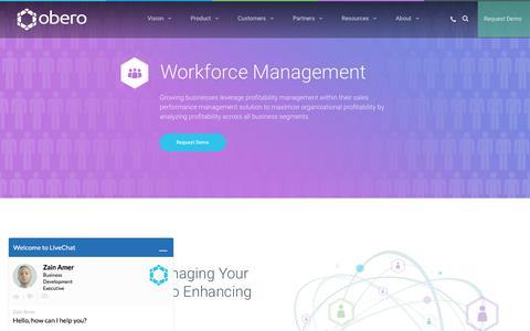 Workforce Planning Management - Obero SPM - Obero SPM