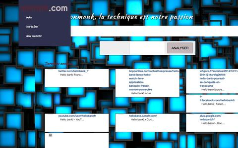 Screenshot of Services Page neonmonk.com - neonmonk.com - captured Sept. 21, 2015