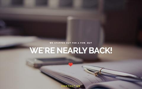 Screenshot of Home Page junip.com - Junip Concepts - new site coming soon! - captured Oct. 6, 2014