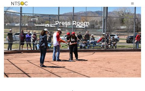 Screenshot of Press Page ntsoc.com - Press Room - NTSOC - captured Oct. 20, 2018