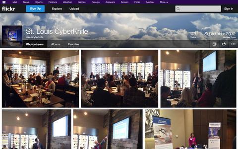 Screenshot of Flickr Page flickr.com - Flickr: stlouiscyberknife's Photostream - captured Oct. 25, 2014