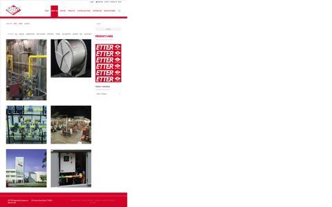 Screenshot of Case Studies Page etterengineering.com - Case Studies - Etter Engineering Company - captured Nov. 11, 2015