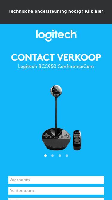 Logitech BCC950 ConferenceCam | Contact Us