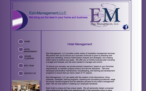 Screenshot of Contact Page businesscatalyst.com - Hotel Management - captured Sept. 17, 2014