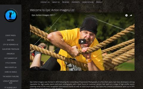 Screenshot of About Page epicactionimagery.com - About Us - epicactionimagery - captured July 20, 2018