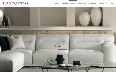 Screenshot of Press Page eurocreations.co.th - News - Euro Creations - captured Sept. 29, 2018