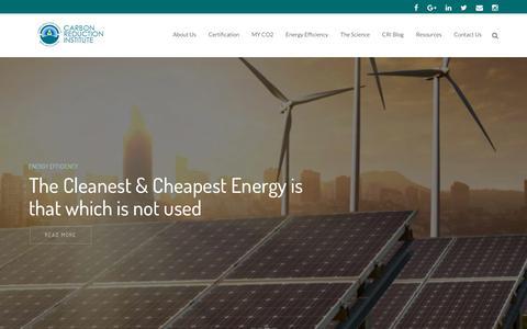 Screenshot of Home Page noco2.com.au - Home - NoCo2 - captured Oct. 7, 2018