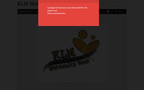 Screenshot of Blog klmmaternitywear.co.uk - KLM maternity Wear Blog - captured Aug. 8, 2016