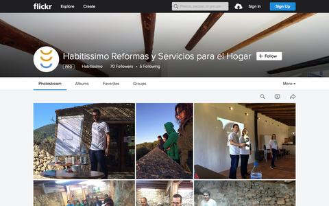 Screenshot of Flickr Page flickr.com - Habitissimo Reformas y Servicios para el Hogar | Flickr - Photo Sharing! - captured Nov. 23, 2015