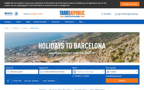 Cheap Holidays to Barcelona 2017/2018 | Travel Republic