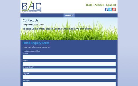 Screenshot of Home Page business-abundance-club.com - How Do I Contact Business Abundance Club :: 01922 898174 - captured Sept. 30, 2014