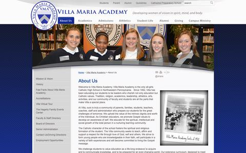 Screenshot of About Page prep-villa.com - Prep-Villa.com: About Us - captured Oct. 20, 2018