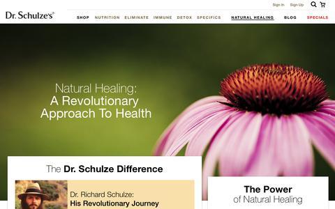 Natural Healing - Dr. Schulze