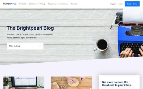Omnichannel Retail Tips & Insight - Brightpearl Blog