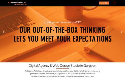 Web Design Gurgaon, Delhi NCR, India | Web Development Company India