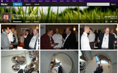 Screenshot of Flickr Page flickr.com - Flickr: Caleb-Vision's Photostream - captured Oct. 22, 2014