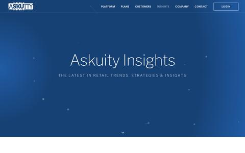 Insights  |  Askuity