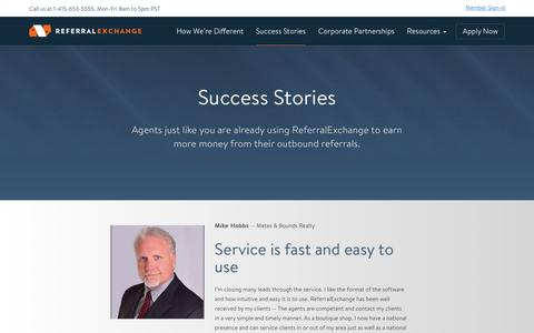 Success Stories | Agent Reviews