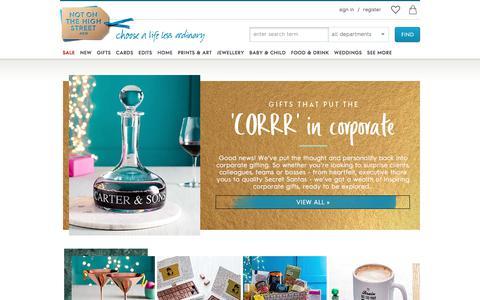 corporate-gifting | notonthehighstreet.com