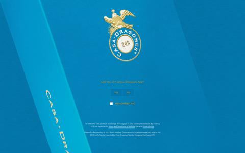 Screenshot of Press Page casadragones.com - Press - Tequila Casa Dragones - captured Nov. 4, 2018