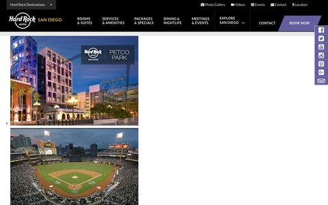 Petco Park Hotel – Best Downtown San Diego Nightlife at Hard Rock Hotel SD