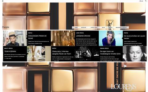 Screenshot of Team Page lourens.nl - People | Lourens J.C. - captured Oct. 2, 2014