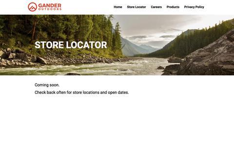 Store Locator | Gander Outdoors
