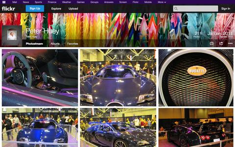 Screenshot of Flickr Page flickr.com - Flickr: Peter Huey's Photostream - captured Oct. 27, 2014