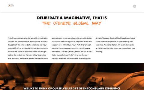 Screenshot of Team Page openeyeglobal.com - Team - OpenEye Global - captured Oct. 20, 2017