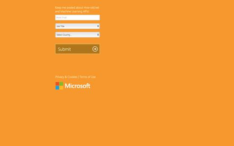 Screenshot of Landing Page microsoft.com captured April 5, 2016