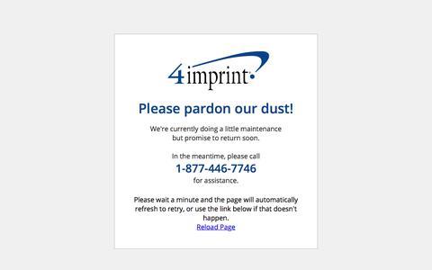 4imprint Down for Maintenance