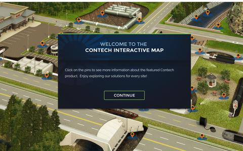 Screenshot of Maps & Directions Page conteches.com - Map - captured Aug. 26, 2016