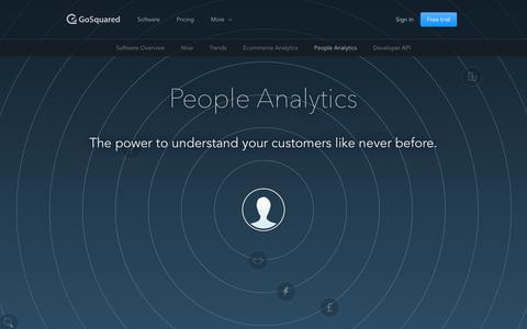 Screenshot of Team Page gosquared.com - People Analytics - GoSquared - captured March 31, 2015