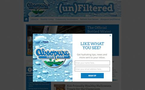 Absopure (un)Filtered - The Absopure Water Company Blog