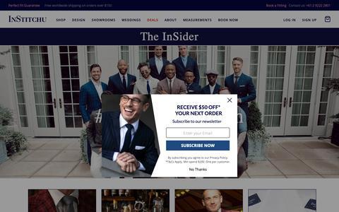 Screenshot of Blog institchu.com - The InSider - captured Sept. 28, 2018