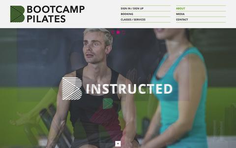 Screenshot of Team Page bootcamppilates.com - Meet The Bootcamp Pilates London Fitness Training Team - captured Jan. 6, 2016