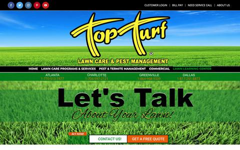 Screenshot of Blog topturf.net - Top Turf/Blog - Top Turf - captured Oct. 20, 2018