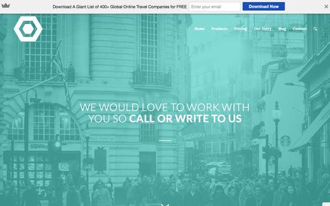 Screenshot of Contact Page whiteskyhospitality.com - Contact - - captured Nov. 14, 2017